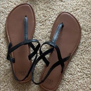 Strapped Sandals size 10